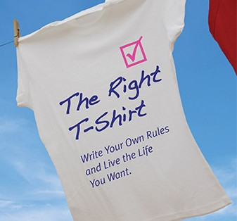"""""""The Right T-Shirt"""" Download the first two chapters of the book"""
